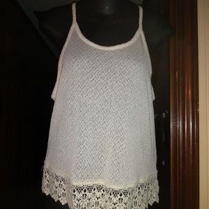 Cute, lace tank top
